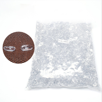 цена на 100Pairs/lot  Nose Pads For Glasses  Anti Allergy Oval Nose Pad For Eyeglasses Frame Nasal Bracket Eyewear Accessories