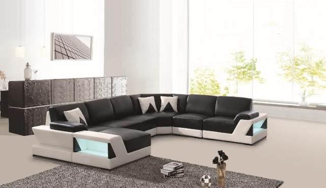 Beau Modern Corner Sofas And Leather Corner Sofas For Sofa Set Living Room  Furniture With Large Corner