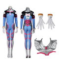 Sexy Tights Jumpsiut D.VA Cosplay Costume Full Set Any Size High Quality Adult