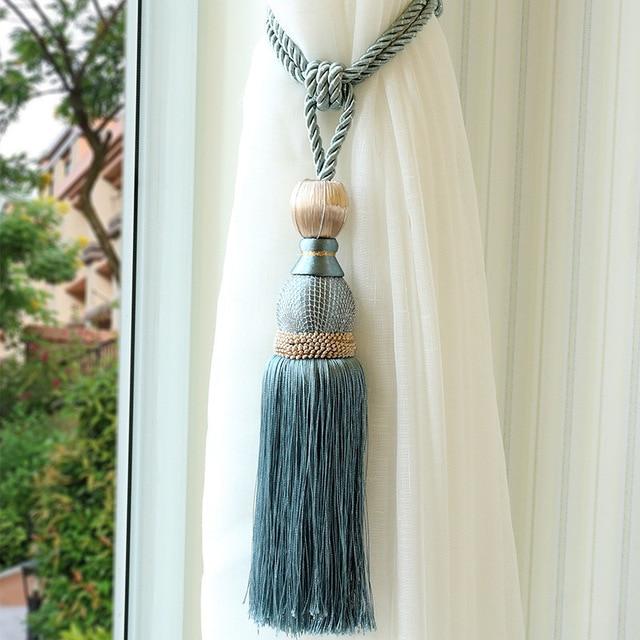 Modern Single Ball Curtain Tassel with Hanging Ball High-grade tassel Hanging Ball Curtain Hanging Ball