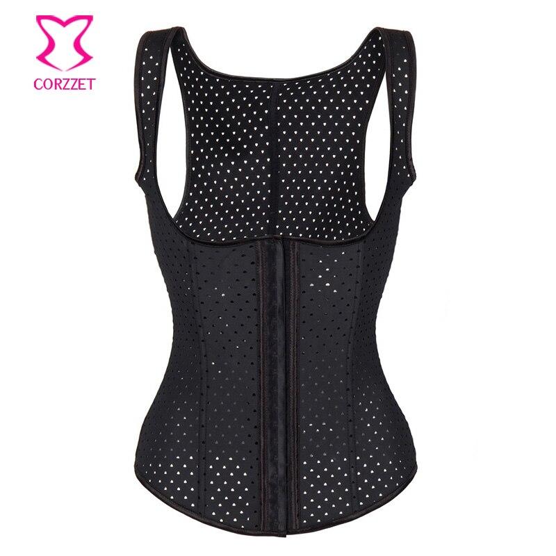 Steel Bone Underbust corsets women slim waist Body Shapewear Vest Latex Corset Hot Shapers