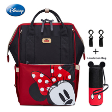 Disney 2019 New Baby Backpack Mickey Minie Diaper Bag Mom Mommy Nappy Stroller Organizer Mother Bolsa Sac Mouse Rugzak