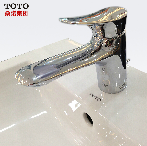 TOTO sanitary ware single hole basin with faucet DL352-in Furniture ...