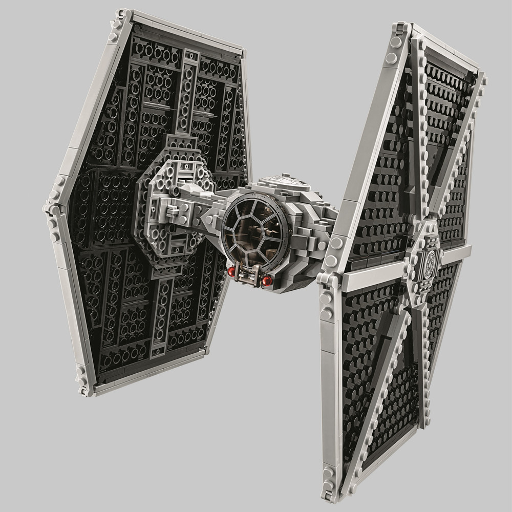 BELA Star Wars The Force Awakens Imperial TIE Fighter Building Blocks Kit Bricks Classic Movie Model Kids Toys Compatible Legoe new 1685pcs lepin 05036 1685pcs star series tie building fighter educational blocks bricks toys compatible with 75095 wars