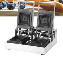 Free Shipping Electric 2 slice Square Loaf Bread Sandwich Press Maker Machine Toaster Grill