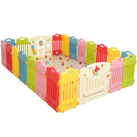 Kids Playpen Toys For Children Dry Ball Pool Baby Play Game Fencing Toddler Indoor Activity Star Plastic Gear Safety Playground
