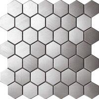 Hexagon Metal Tiles for wall,kitchen backsplash tile, SA163