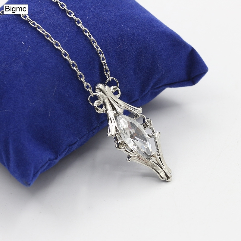 New magic crystal necklace men women fashion magic movie Simple crystal Necklaces party gift jewelry N1008