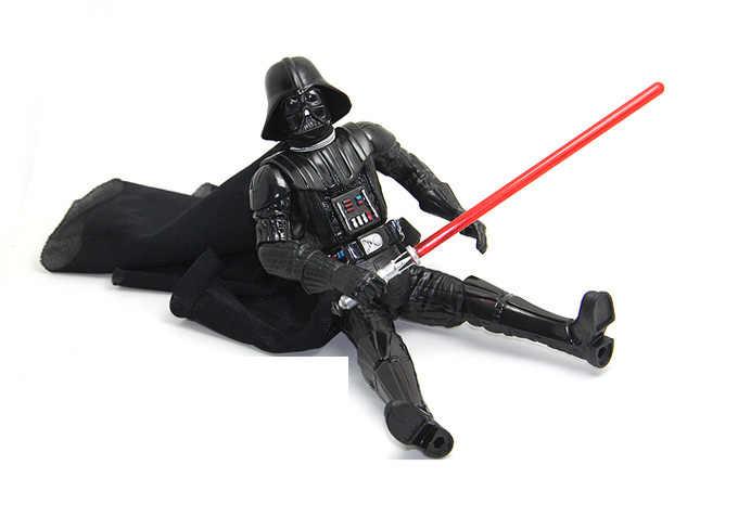 Kualitas tinggi 17 cm perang bintang Darth Vader action figure, Tokoh anime, Mainan anak-anak untuk anak laki-laki
