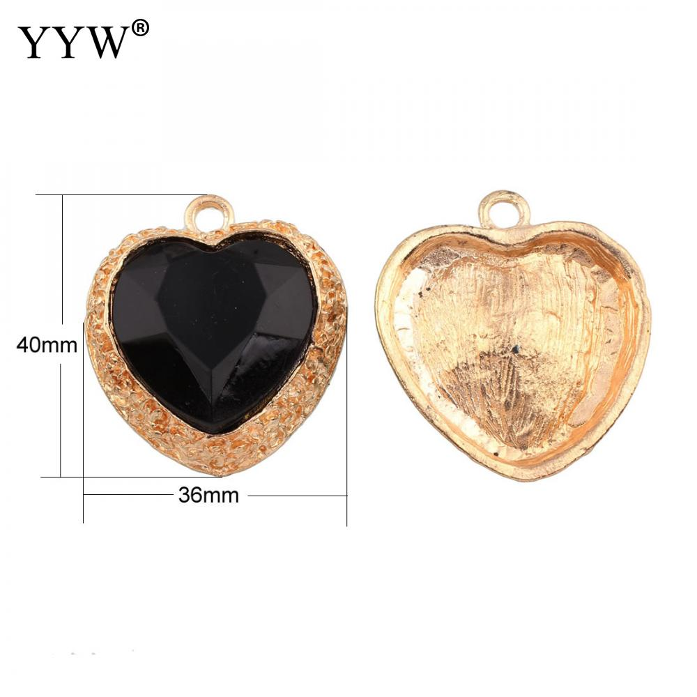 Aliexpress buy acrylic pendants for necklace zinc alloy with aliexpress buy acrylic pendants for necklace zinc alloy with black acrylic heart love gold color plated for jewelry making diy necklace gift from mozeypictures Image collections