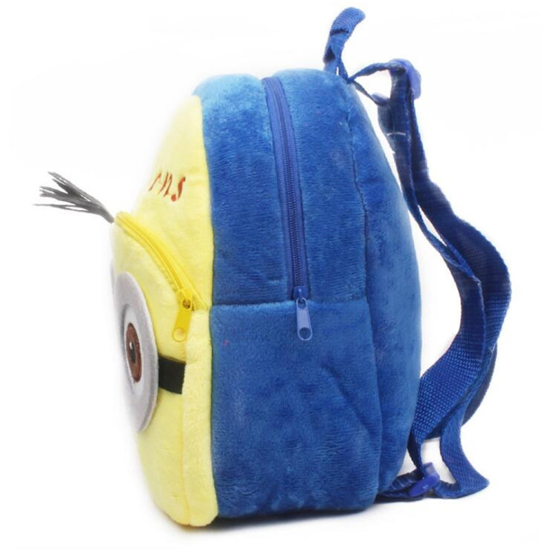 New-Arrival-Minions-Plush-Kids-Backpackers-Children-School-Bags-Christmas-Gifts-3