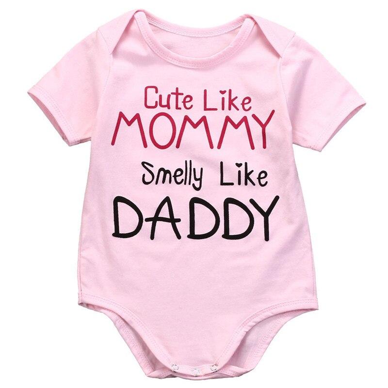 Pamuk novorođenčad Djevojčice ružičasti kombinezon odijela - Odjeća za bebe