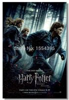Custom Harry Potter 7 Movie Poster Modern Fashion Stylish Home Decor Retro Bedroom High Quality 50x76cm