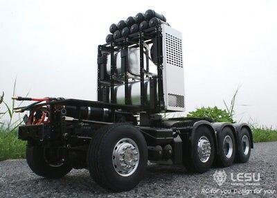 Heavy-duty Chassis LESU 1/14 Scania R620 RC Tractor Truck Model Car SAVOX Servo стоимость