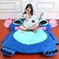 Dorimytrader Japan Anime Stitch Tatami Giant Soft Plush Thickened Beanbag Bed Carpet Mattress Bedding Pad Free Shipping DY60840