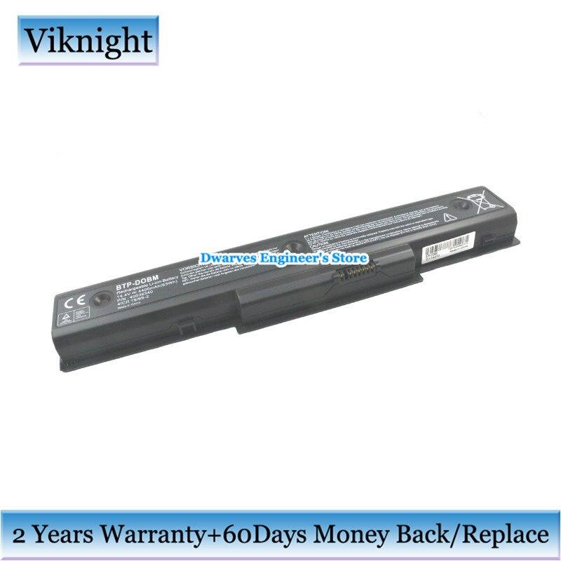 14.4 V BTP-DOBM Batterie Pour Medion Akoya E7218 P7624 P7812 BTP-DNBM BTP-DNBM batterie d'ordinateur portable 4300 mAh 62Wh