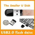 Горячая! 8 ГБ 16 ГБ 32 ГБ 64 ГБ Водонепроницаемый Супер Мини Крошечный USB Flash Drive USB Pen Drive Memory Stick U Диск Pendrive