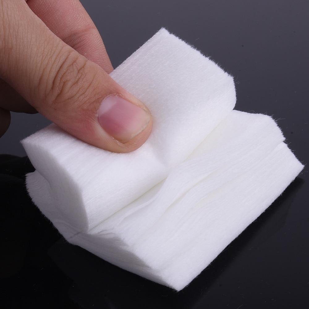 900pcs/lot Delicate Nail Tools Nail Polish Remover Wipes Nail Art ...