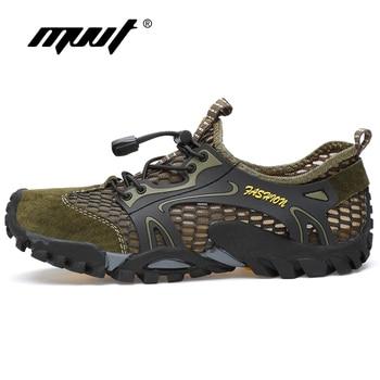 Summer Breathable Men Hiking Shoes 2
