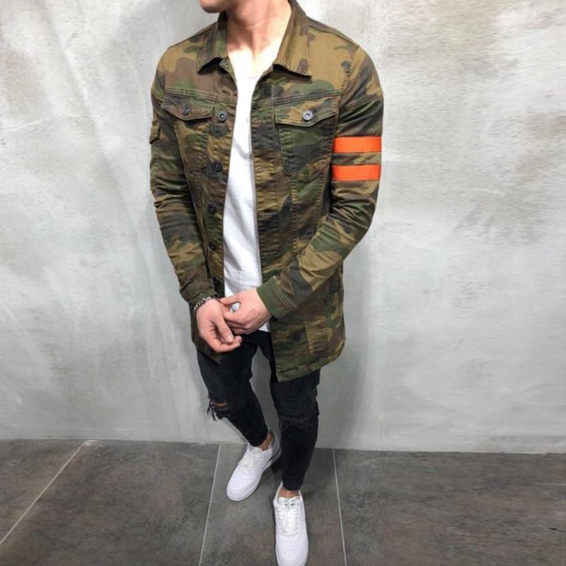 NEW 2019 Mens Camouflage Military Jacket Spring Autumn Cargo Plus size S XXXL Casual Man Jackets NEW 2019 Mens Camouflage Military Jacket Spring Autumn Cargo Plus size S-XXXL Casual Man Jackets Army Clothes Brand
