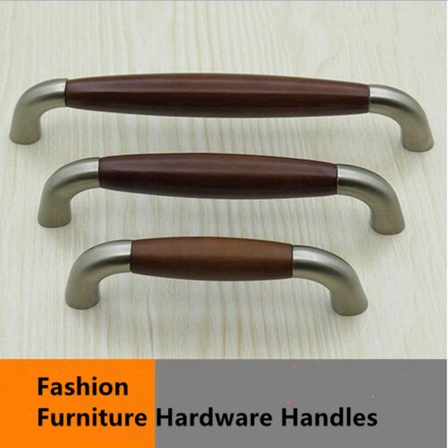 96mm 128mm 160mm moda moderna américa stain níquel muebles manijas ...