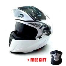 NUOVO Motociclo del PUNTINO ECE 105 Flip Up casco motocross motociclo casco Caschi motocross casco da corsa M L XL XXL