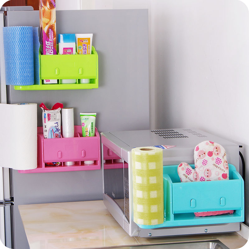 High quality kitchen storage box organizer plastic bag holder ...