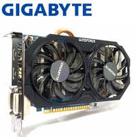 Gigabyte GTX750TI GTX 750TI 2 GB D5 DDR5 128 Bit PC Desktop di Schede Grafiche computer Schede Grafiche