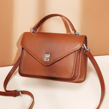 Fashion Genuine Leather women shoulder bag High Quality Retro Female Bags messenger bag luxury Designer crossbody bags for women