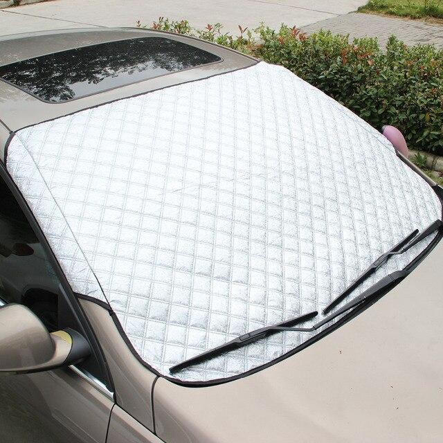Новое поступление 2019, прочная защитная шторка для автомобиля, Солнцезащитная шторка для автомобиля и снега, светоотражающая шторка для внедорожника