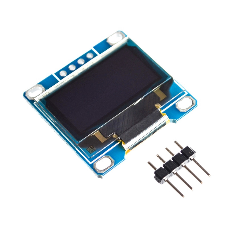 1pcs 4pin 0.96white Blue 0.96 inch OLED module New 128X64 OLED LCD LED Display Module For 0.96 IIC I2C Communicate 1 3 inch 128x64 oled display module blue 7 pins spi interface diy oled screen diplay compatible for arduino