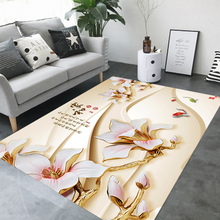 3D Chinese Style Artist Landscape Rug Living Room Carpets Sofa Mat Large Rugs Study Bedroom Bedside Cabinet Blanket Yoga Pad
