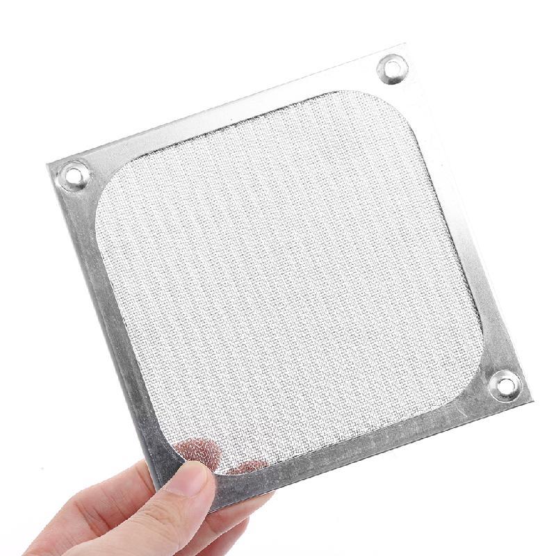 80/90/120mm Size Metal Dustproof Mesh Dust Filter Net Guard For PC Computer Machine Box Cooling Fan, Computer Fan Dust Filter akasa aluminum computer case fan dust guard grill filter black 12 x 12cm