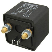 цена на Switch Split Charge 12V 100Amp 4 Pin Heavy Duty ON OFF Switch Relay for Car Auto Van Boat