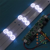 630mm 17mm 9leds LED Backlight Lamps LED With Inverter For TV Monitor Panel And Billboard