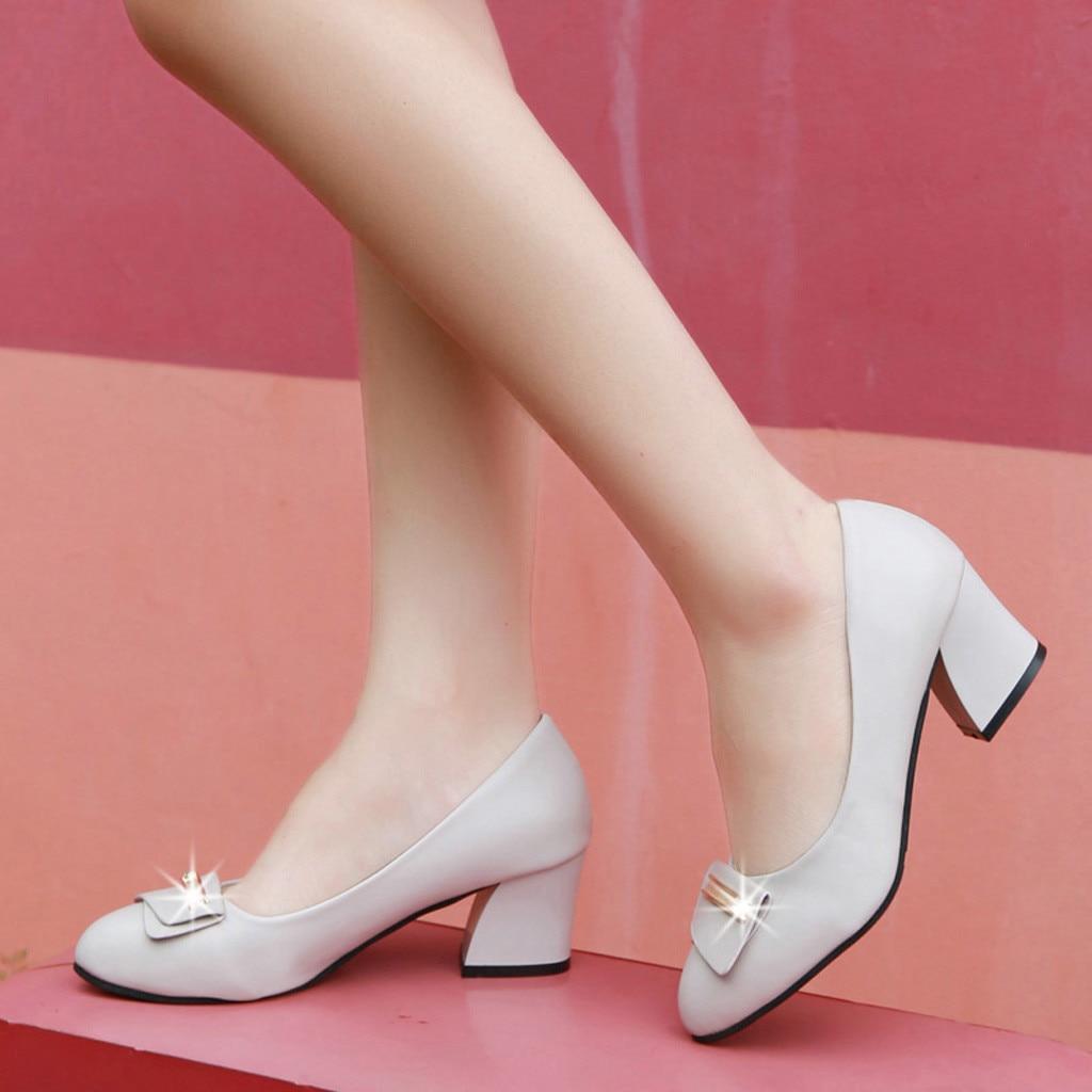 Pointu Belle Femmes Feminino En Dame noir Pompes Beige Sapato Printemps Carré Métal Bureau Vogue Orteil Talon Chaussures 8WRUFR6