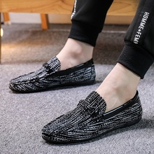 Summer Men Shoes Casual Luxury Brand 2019 Genuine Leather Mens Loafers Moccasins Italian Breathable Slip on Boat Shoes