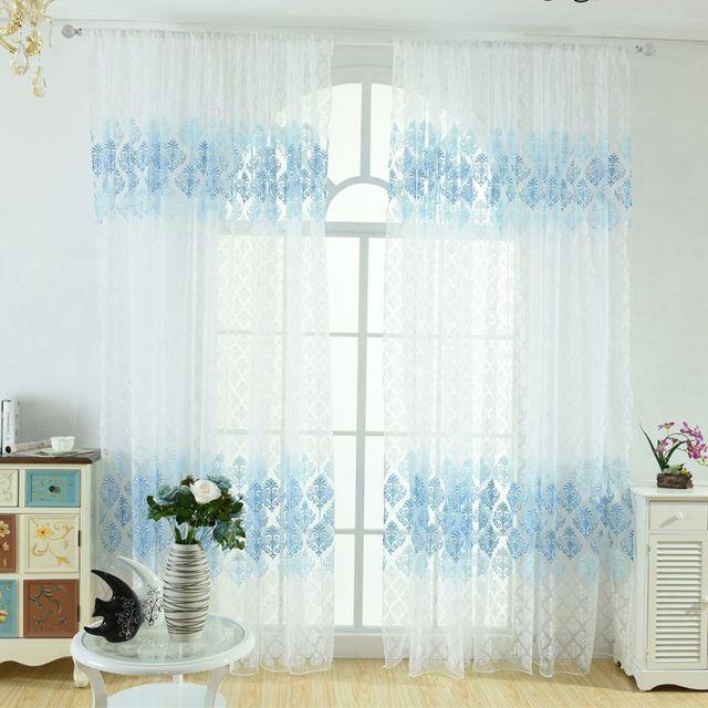 retro totem gedrukt tulle gordijn plafond meubels decoratie slaapkamer woonkamer prachtige gordijnen