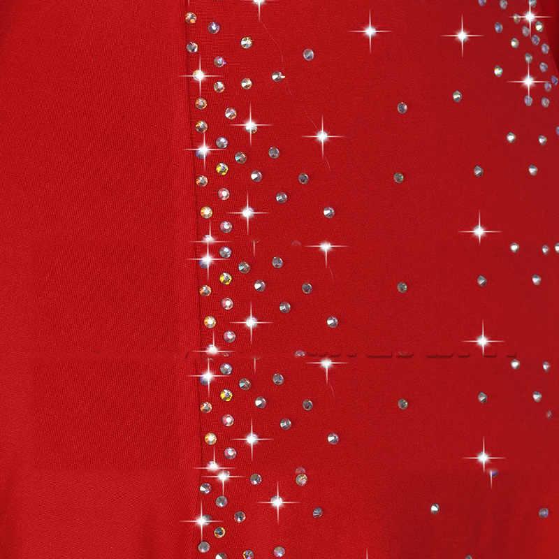 2e4fa6789902 ... New Sexy Latin Dance Dress Women Fashion Style Red Color Salsa Tango  Dresses Lady Rumba Flamenco ...