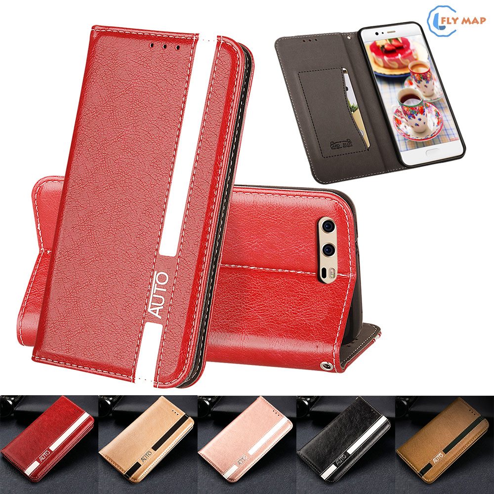 Flip Case for Huawei P10 VTR-L29 VTR-L09 VTR-AL00 Business Wallet Leather Cover Phone Case for Huawei P 10 VTR L29 L09 AL00 Bag ...