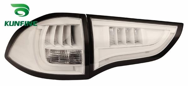 Пара KUNFINE автомобиля задний фонарь для MITSUBSHI Паджеро спорт 2011-2016 светодиодный стоп-сигнал с поворотом световой сигнал