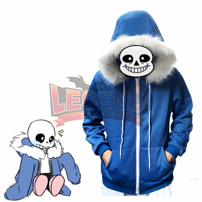 Undertale costume Sans cosplay Skull Skeleton Cosplay adult costume jacket cosplay sans undertale