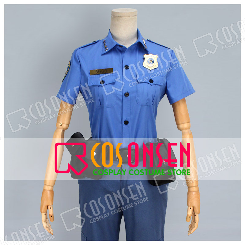 COSPLAYONSEN Zootopia Zootropolis Chief Bogo  Cosplay Costume Any Size +Costume Badge