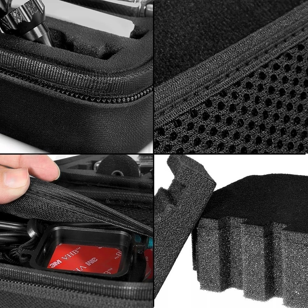 Image 2 - Andoer Portable Action Camera Case Protective Case for GoPro Hero Sport Camera Accessory Anti shock Storage Bag-in Sports Camcorder Cases from Consumer Electronics