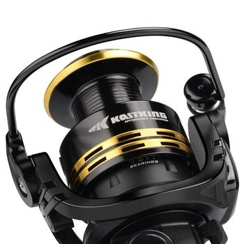 Amazing 8KG Max Drag Fishing Reel Fishing Reels cb5feb1b7314637725a2e7: Gold