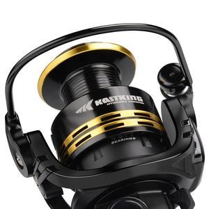 Image 2 - KastKing Lancelot İplik balıkçılık Reel 8KG Max sürükle balıkçılık Reel 2000 5000 serisi 5.0: 1 dişli oranı bas balıkçılık için bobin