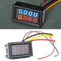 DC 0V-100V Dual LED Digital Voltmeter Ammeter Voltage AMP Power Meter Current Ampere Panel Meter Voltmeter Ammeter