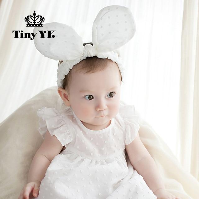 Newly Design Girls Big Bow Headbands Newborn Infant Hair Accessories Kids Headwear Baby Headdress Children Elastic Hair Bands