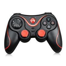 Terios S3 Bluetooth Gamepad untuk Android Nirkabel Joystick Gaming Controller Hitam untuk Android Smartphone Android TV Box(China)