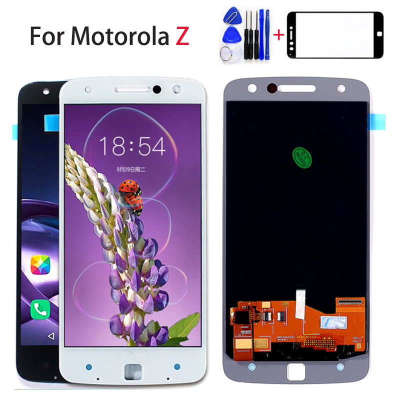 <font><b>LCD</b></font> Display For Motorola MOTO Z Droid Edition XLTE <font><b>XT1650</b></font> <font><b>XT1650</b></font>-03 Touch Screen Digitizer Sensor Assembly 2560*1440 Free Tools image
